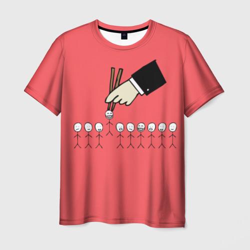 Мужская футболка 3D HR