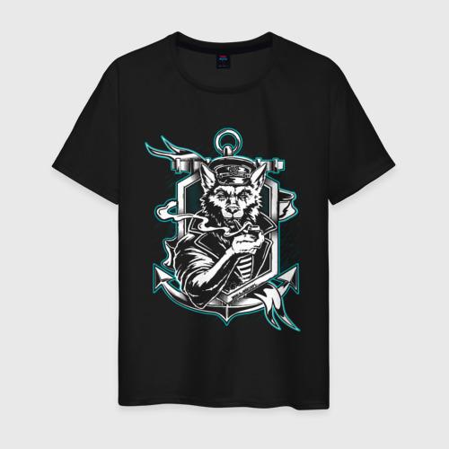 Мужская футболка хлопок Sea Wolf