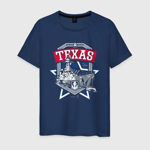 Мужская футболка хлопок Texas
