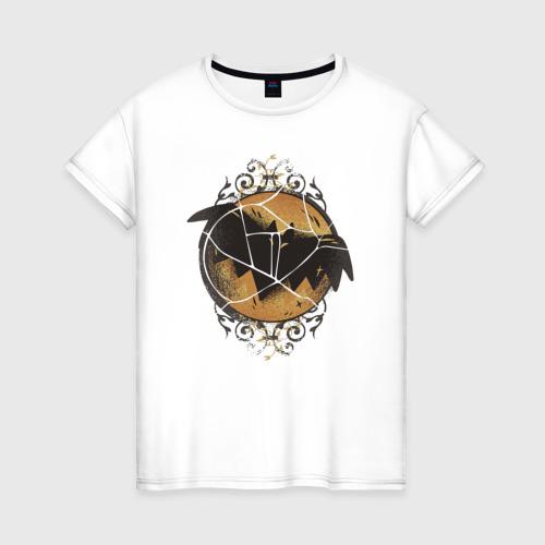 Женская футболка хлопок Летучая Мышь