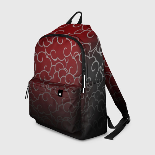 Рюкзак 3D Naruto белые облака паттерн