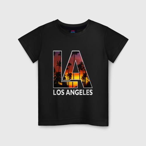Детская футболка хлопок Los angeles
