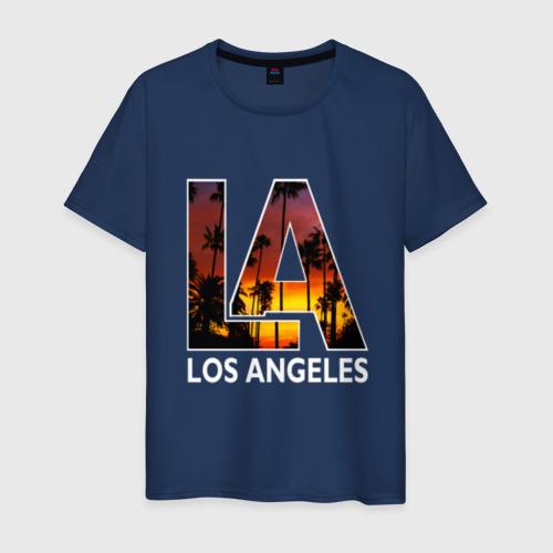 Мужская футболка хлопок Los angeles
