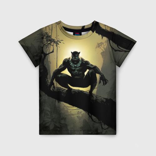 Детская футболка 3D Black Panther