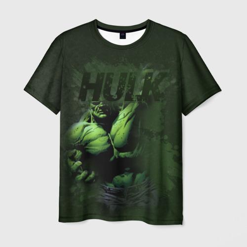 Мужская футболка 3D Hulk comics
