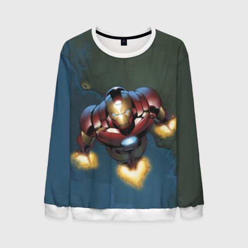 Мужской свитшот 3D Iron man