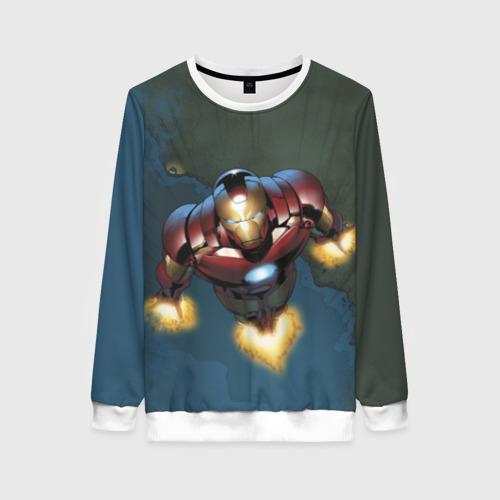 Женский свитшот 3D Iron man