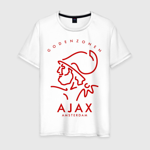 Мужская футболка хлопок Аякс