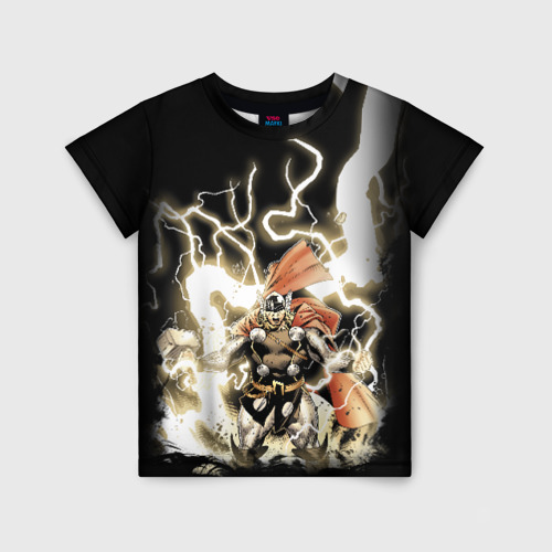Детская футболка 3D The Mighty Thor