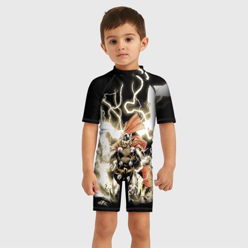 Детский купальный костюм 3D The Mighty Thor