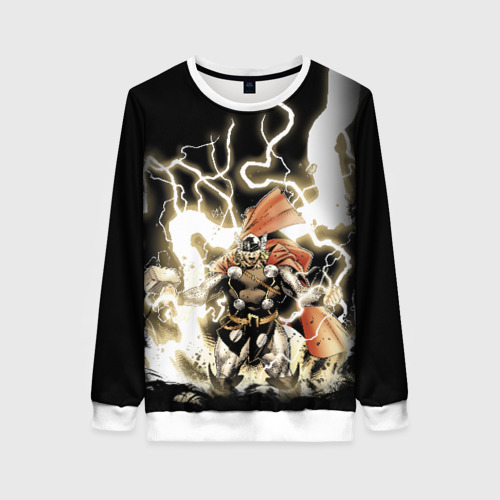 Женский свитшот 3D The Mighty Thor