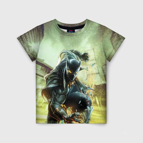 Детская футболка 3D Черная пантера