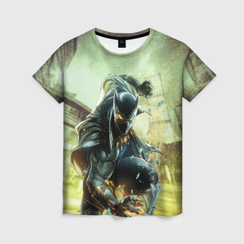Женская футболка 3D Черная пантера