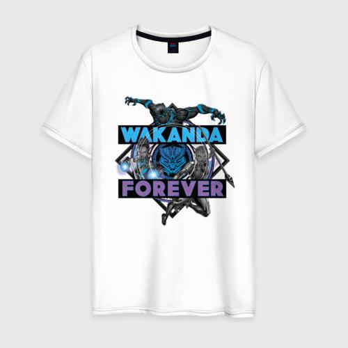Мужская футболка хлопок Wakanda