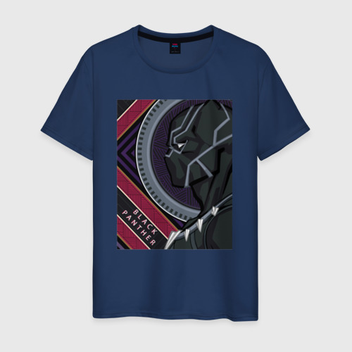 Мужская футболка хлопок Black panther
