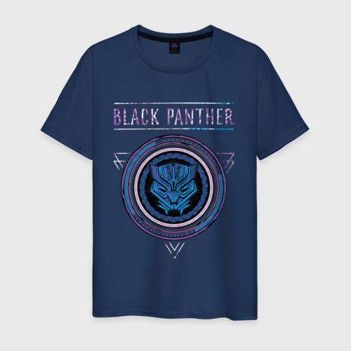 Мужская футболка хлопок Черная пантера