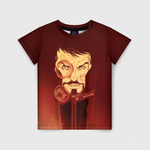 Детская футболка 3D Tony Stark