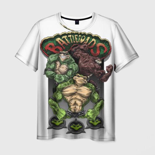 Мужская футболка 3D Battletoads ART