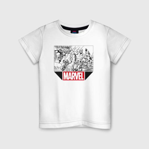 Детская футболка хлопок AVENGERS