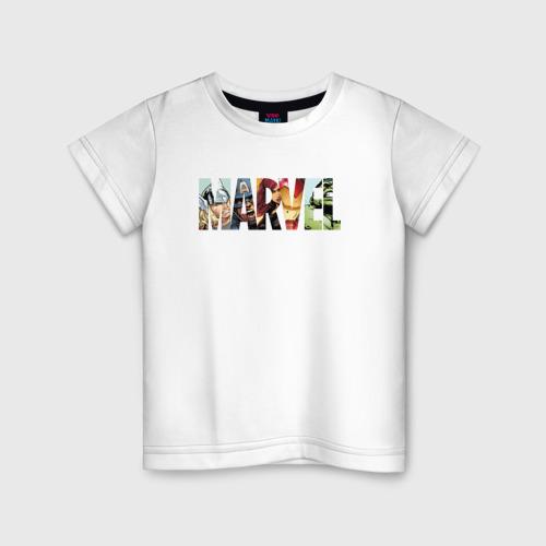 Детская футболка хлопок Marvel Comics