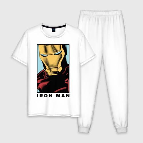 Мужская пижама хлопок Iron Man