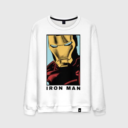 Мужской свитшот хлопок Iron Man