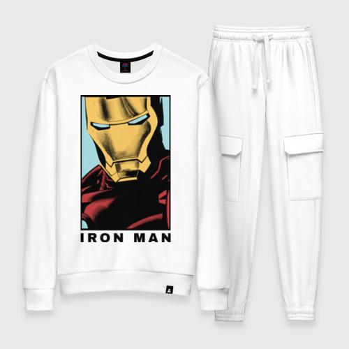Женский костюм хлопок Iron Man