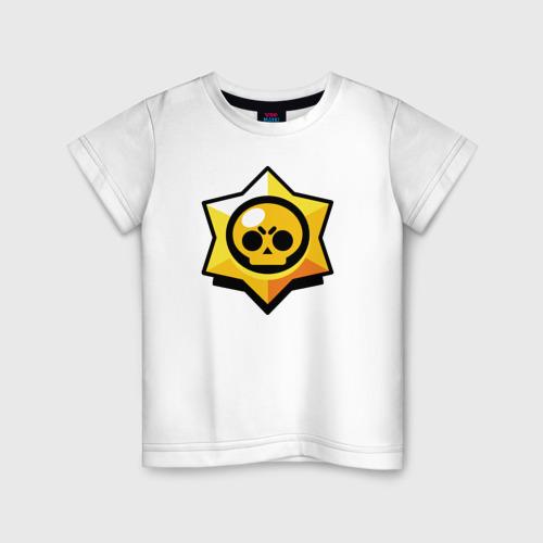 Детская футболка хлопок Brawl Stars