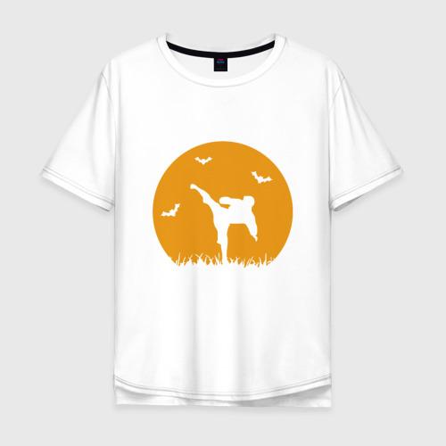Мужская футболка хлопок Oversize Карате