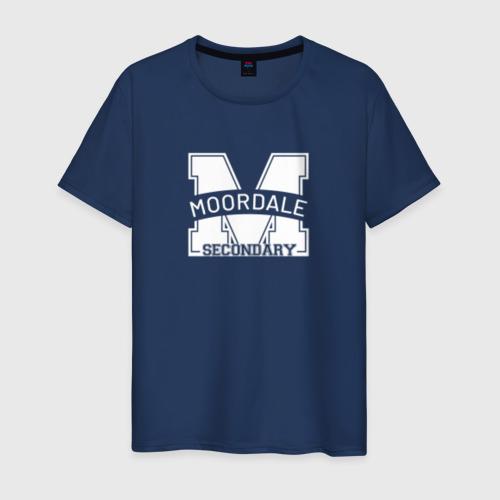 Мужская футболка хлопок Moordale School