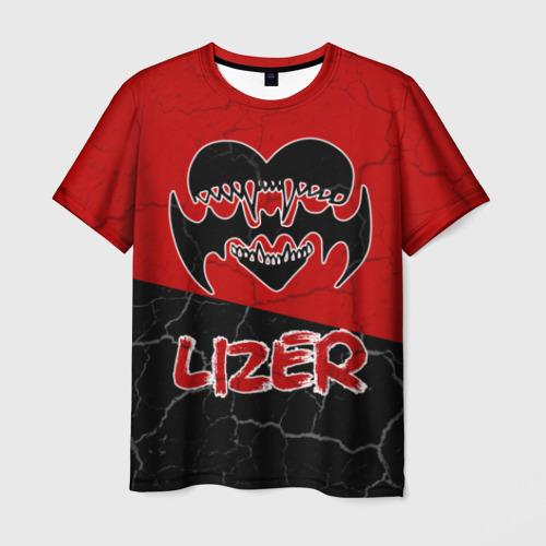 Мужская футболка 3D Lizer (1)