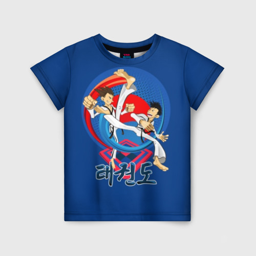 Детская футболка 3D Taekwondo