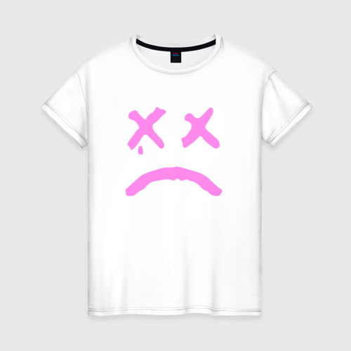 Женская футболка хлопок LIL PEEP