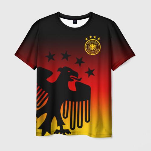 Мужская футболка 3D Сборная Германии