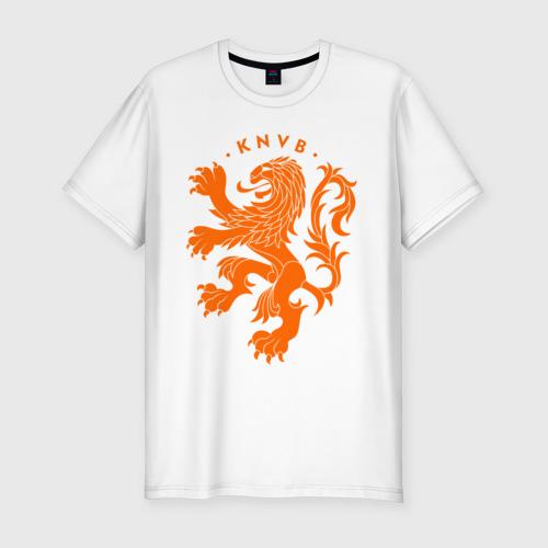 Мужская футболка хлопок Slim Сборная Голландии