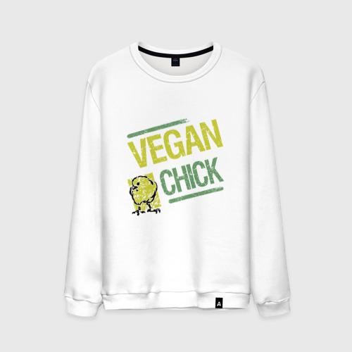 Мужской свитшот хлопок Vegan Chick