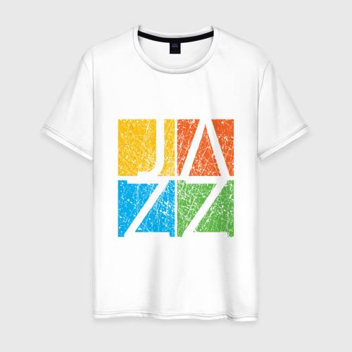 Мужская футболка хлопок Jazz