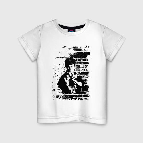 Детская футболка хлопок Брюс Ли