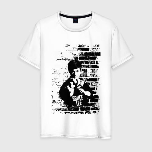 Мужская футболка хлопок Брюс Ли