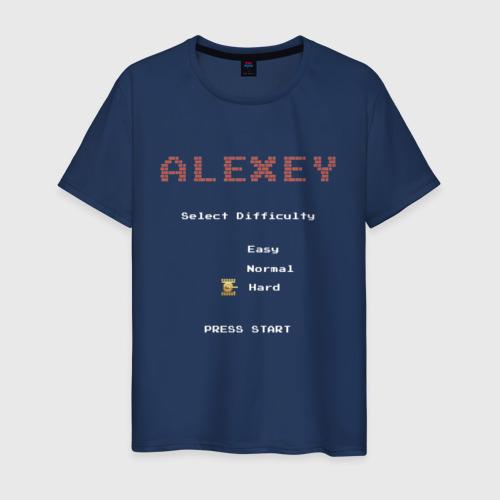 Мужская футболка хлопок Алексей танчики