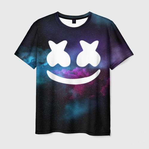 Мужская футболка 3D MARSHMELLO SPACE