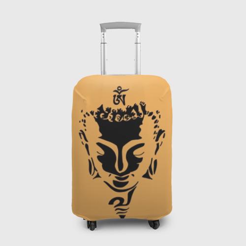 Чехол для чемодана 3D Будда