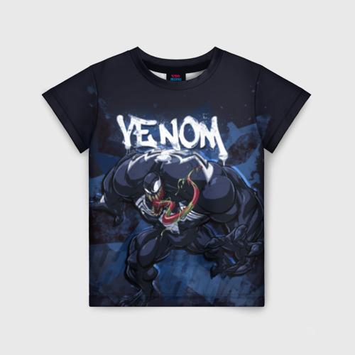 Детская футболка 3D Venom comics