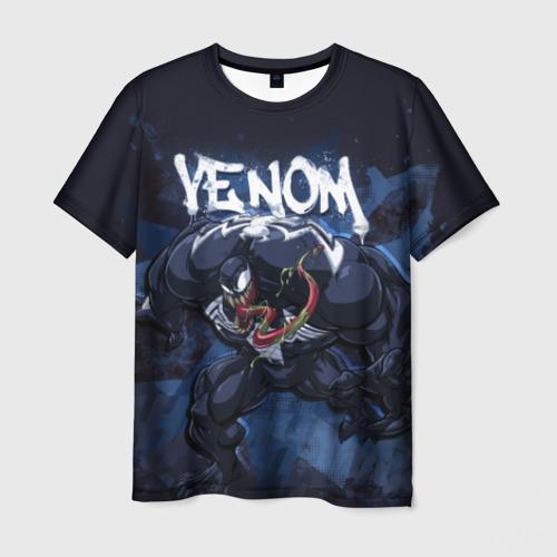 Мужская футболка 3D Venom comics