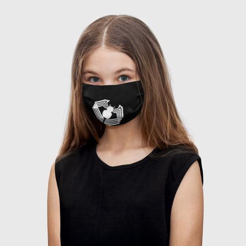 Детская маска (+5 фильтров) Venom spider
