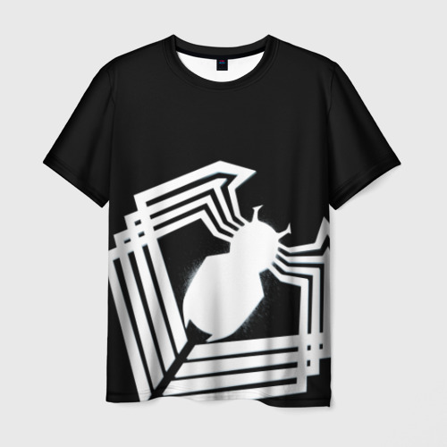 Мужская футболка 3D Venom spider