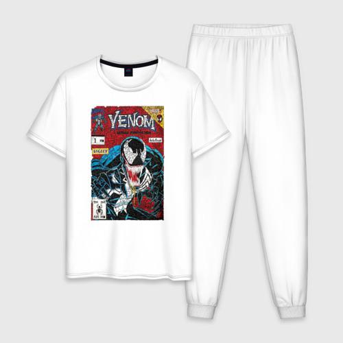 Мужская пижама хлопок Venom