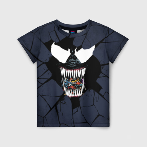 Детская футболка 3D Веном