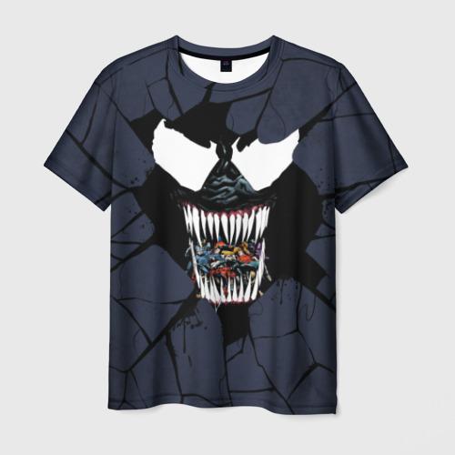 Мужская футболка 3D Веном