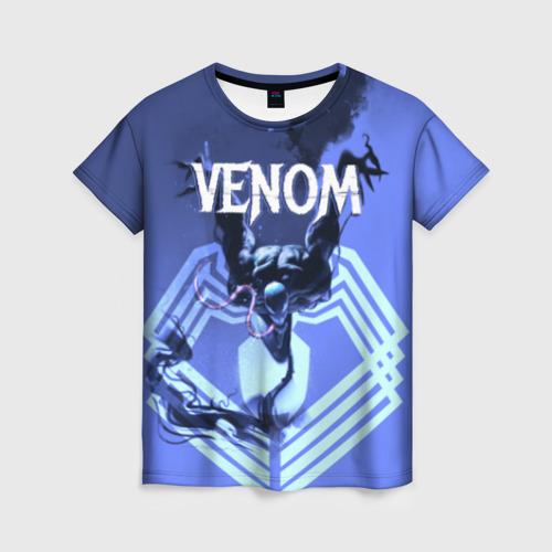 Женская футболка 3D VENOM